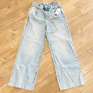 Free People High Waisted Jeans